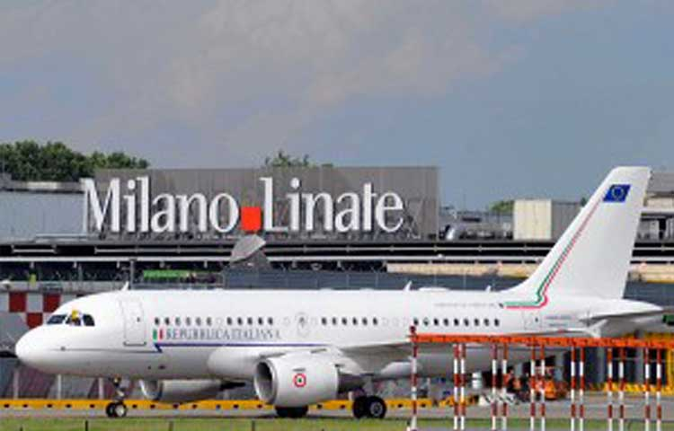 Linate airport to Milan